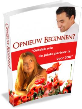 Cover Opnieuw Beginnen met echte liefde